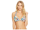 LAUREN Ralph Lauren LAUREN Ralph Lauren Cabana Paisley Ring Front Halter Top