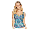 La Blanca La Blanca Tuvalu Underwire Wrap Over the Shoulder Tankini Top
