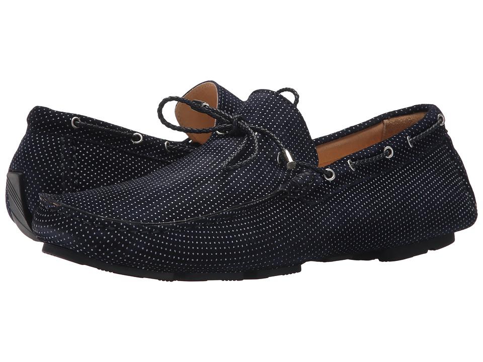 BUGATCHI - Sanremo Moccasin (Blue) Mens Shoes