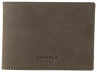Shinola Detroit Shinola Detroit Slim Bifold 2.0 Outrigger