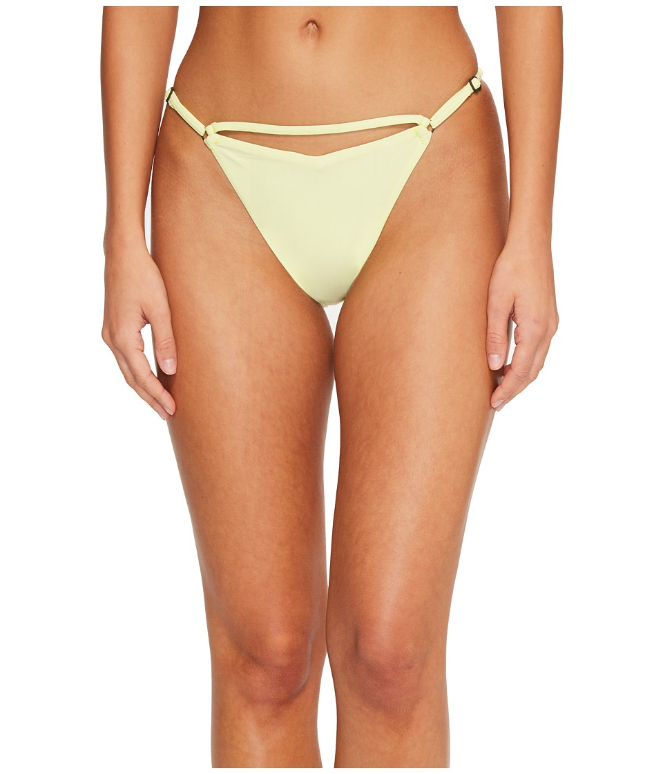 Sports Illustrated - Juice Is Loose V Bikini Bottom (Lemon) Womens Swimwear