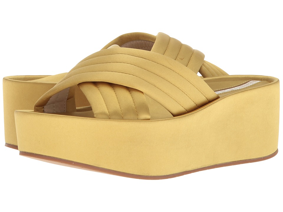 Kenneth Cole New York Damariss (Yellow/Gold Satin) Women