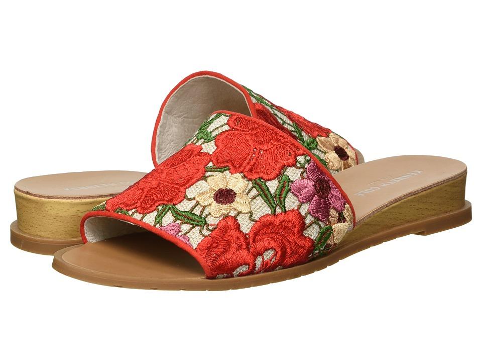 Kenneth Cole New York Joanne (Red Multi Crochet) Women