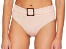 Sports Illustrated Sports Illustrated Secret Garden Belted High-Waist Bikini Bottom