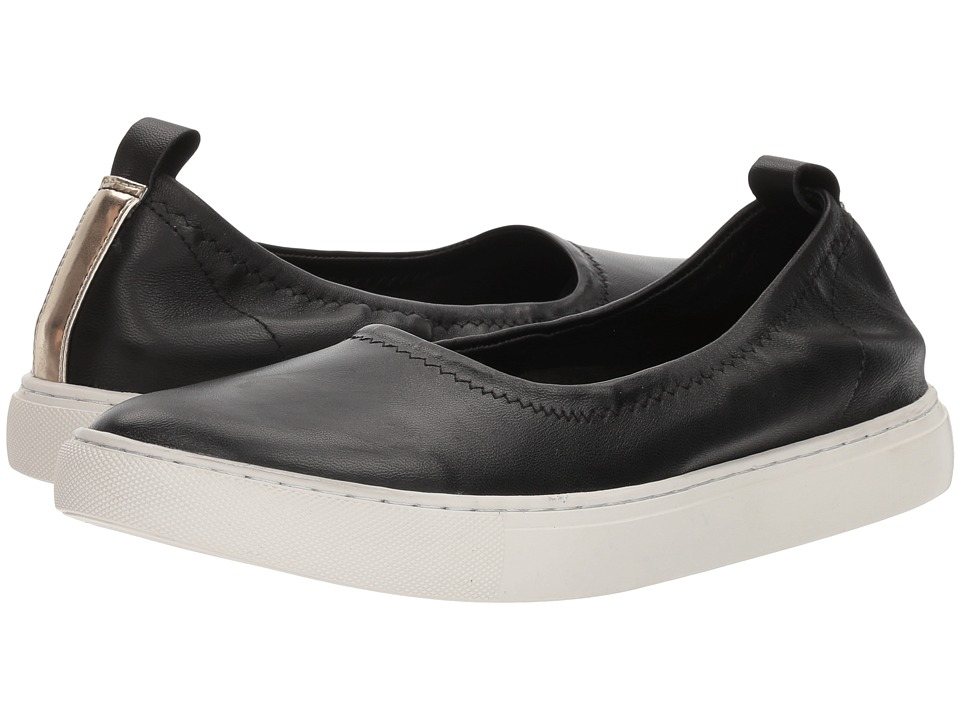 Kenneth Cole New York Kam Ballet (Black Leather) Women
