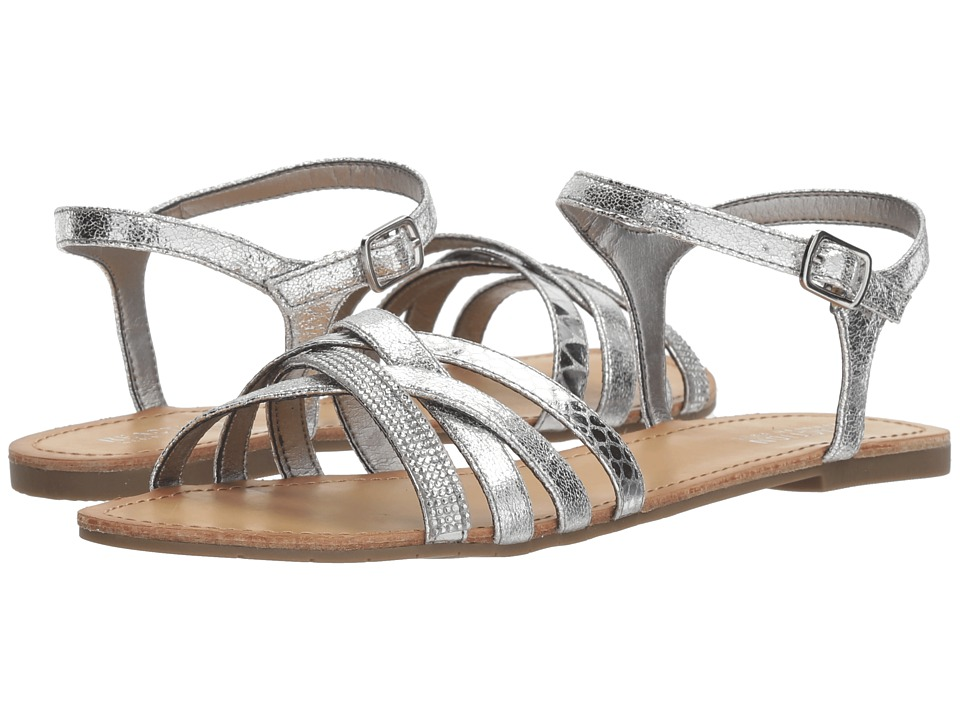 Kenneth Cole Reaction Just New (Silver Metallic) Women's Shoes