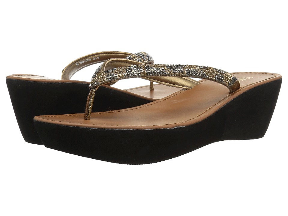 Kenneth Cole Reaction Fine Sun (Medal Gold Metallic) Women's Shoes