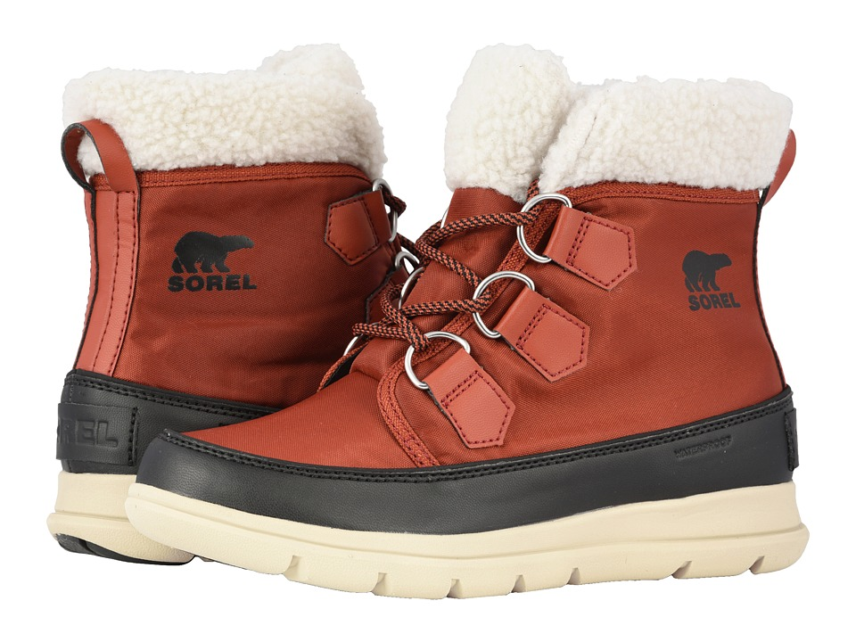 SOREL Explorer Carnival (Rusty/Black) Women's Cold Weather Boots