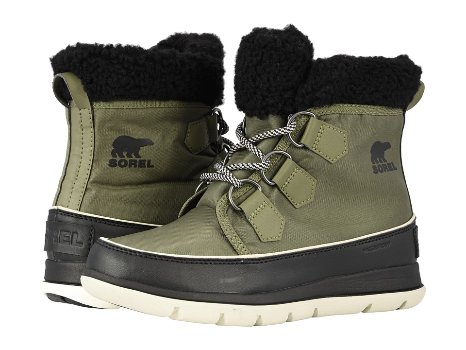 SOREL Explorer Carnival (Hiker Green/Black) Women's Cold Weather Boots