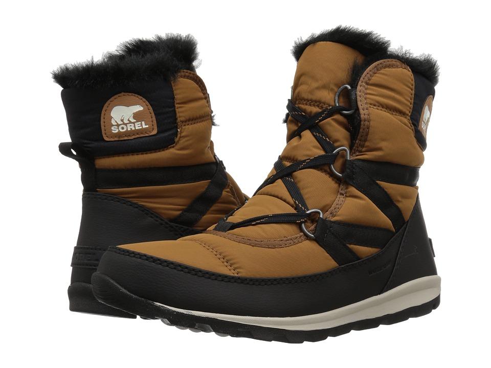 SOREL Whitney Short Lace (Camel Brown) Women's Waterproof Boots