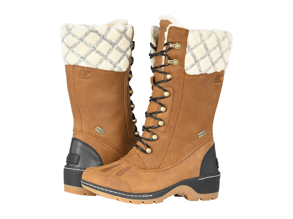 SOREL Whistlertm Tall (Camel Brown/Black) Women's Cold Weather Boots