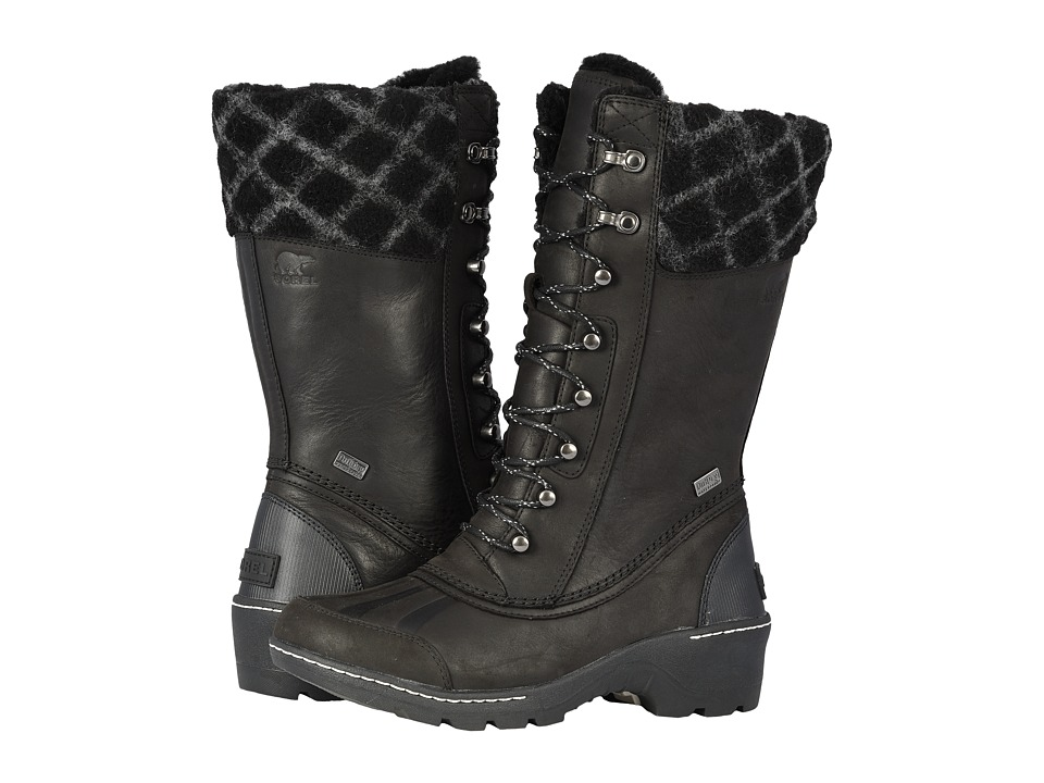 SOREL Whistlertm Tall (Black/Dark Stone) Women's Cold Weather Boots