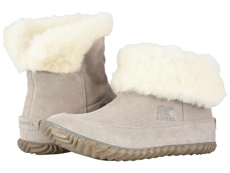 SOREL Out 'N Abouttm Bootie (Chrome Grey/Natural) Women's Cold Weather Boots