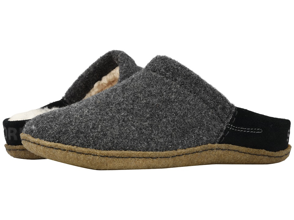 SOREL Nakiskatm Scuff (Black/Natural) Slippers