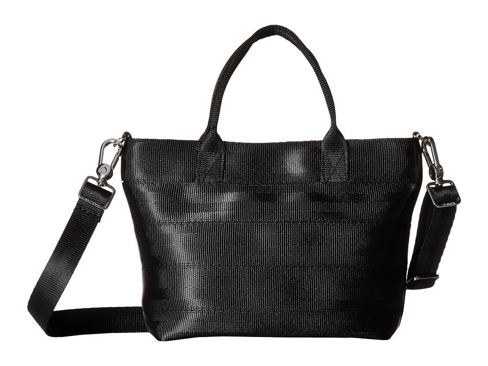 Harveys Seatbelt Bag - Petite Streamline Tote (Black) Tote Handbags