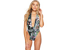 Sports Illustrated Sports Illustrated Secret Garden Plunge Front Backless One-Piece