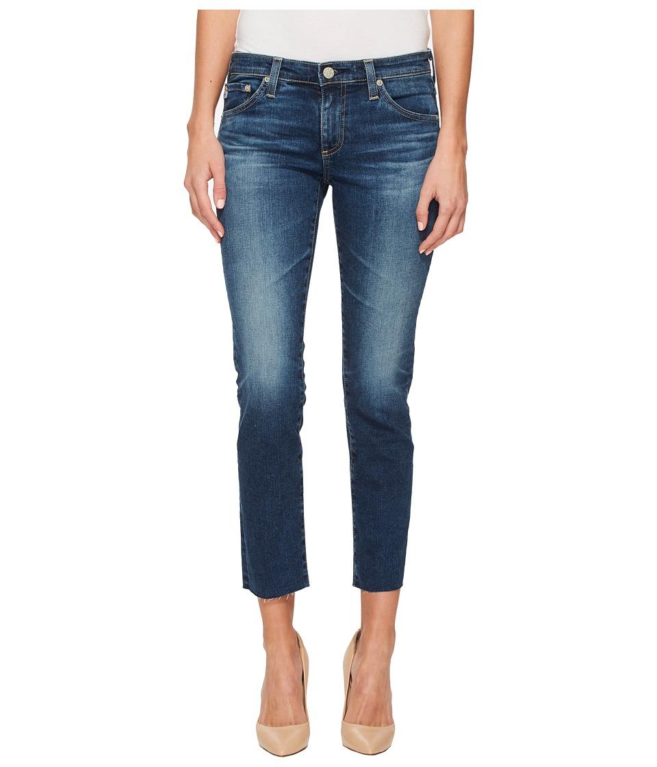 AG Adriano Goldschmied - Stilt Crop in 5 Years Indigo Avenue (5 Years Indigo Avenue) Womens Jeans
