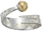 Alex and Ani Harry Potter Golden Snitch Two-Tone Ring Wrap