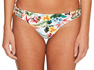 Red Carter Martinique Macrame Hipster Bikini Bottom