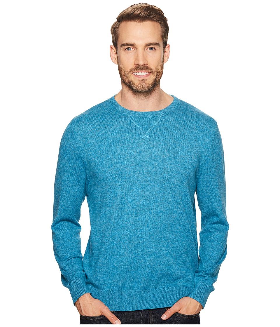 Pendleton Sweatshirt Pullover Sweater (Seaport Blue) Men