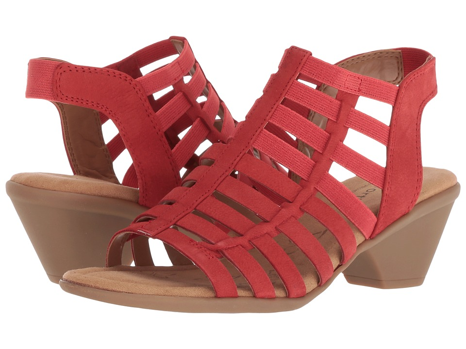 Comfortiva Fran (Hot Red Otago Softy) High Heels