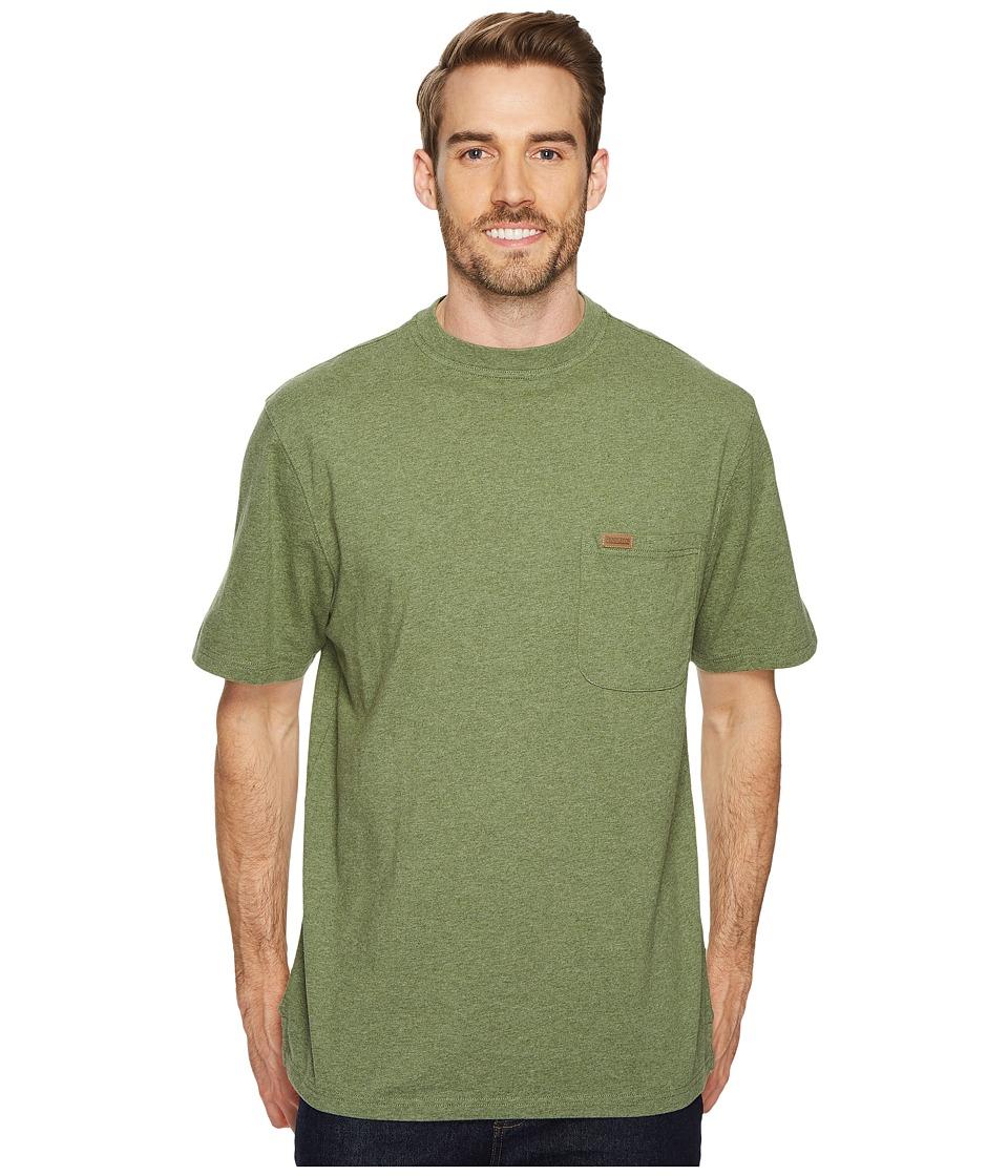 Pendleton S/S Deschutes Pocket Shirt (Olive Green Heather) Men