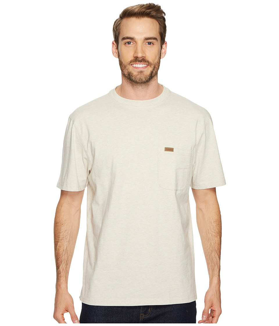 Pendleton S/S Deschutes Pocket Shirt (Natural/Beige Heather) Men