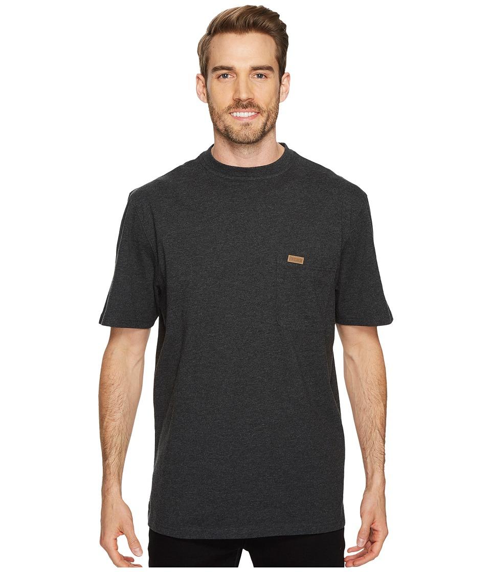 Pendleton S/S Deschutes Pocket Shirt (Dark Grey Heather) Men