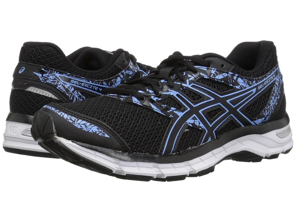 ASICS Gel-Excite 4 (Black/Blue Bell) Women's Running Shoes
