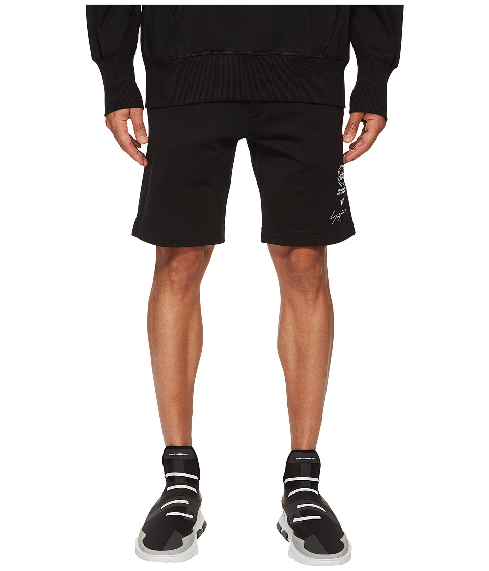 adidas Y-3 by Yohji Yamamoto - Graphic Shorts (Black) Mens Shorts
