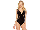 JETS by Jessika Allen Lustrous Plunge One-Piece