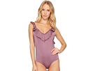 JETS by Jessika Allen Elegance Ruffled One-Piece