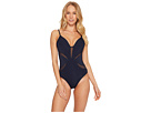 JETS by Jessika Allen Aspire Plunge Cut Out One-Piece