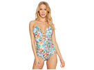 JETS by Jessika Allen Decorum Plunge One-Piece