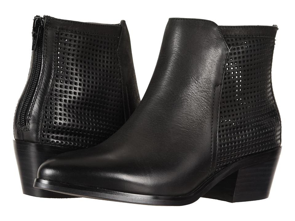 David Tate Kaci (Black Brushed Nubuck) Women's Shoes