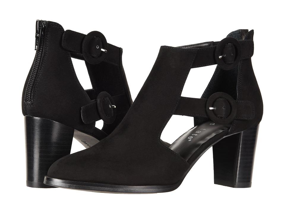 David Tate Exotic (Black Suede) Women's Shoes