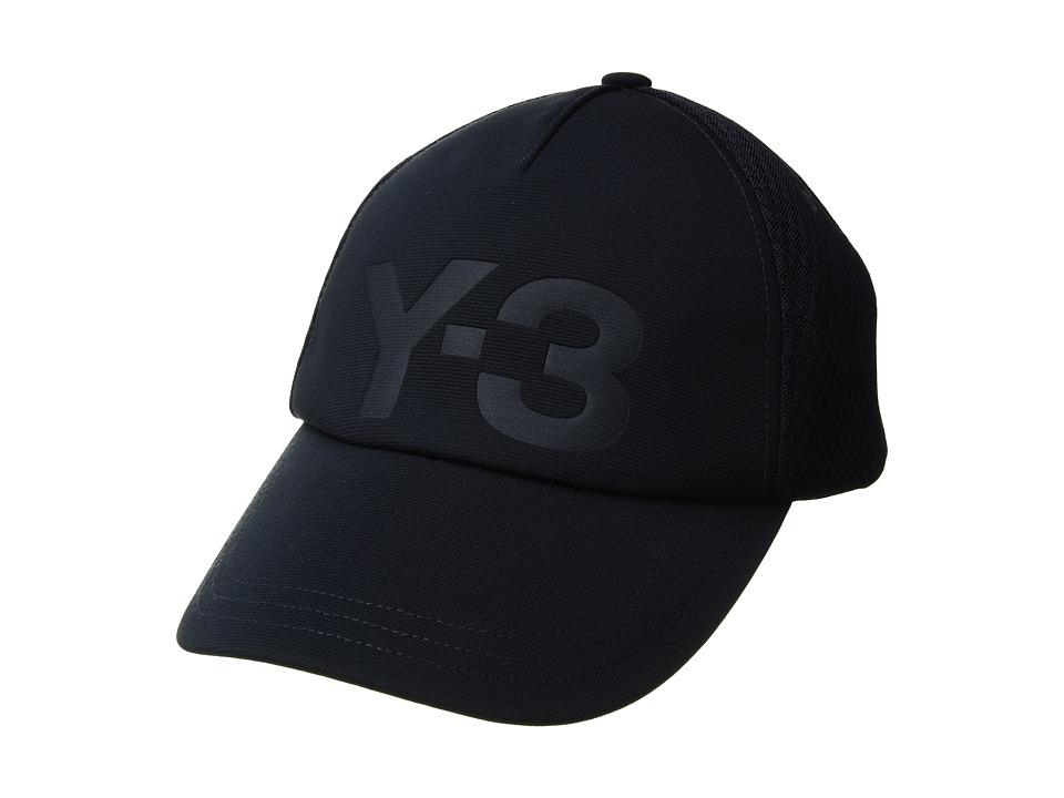 adidas Y-3 by Yohji Yamamoto - Trucker Cap (Legend Blue) Caps