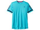 adidas Kids Tennis Club 3 Stripes T-Shirt (Little Kids/Big Kids)