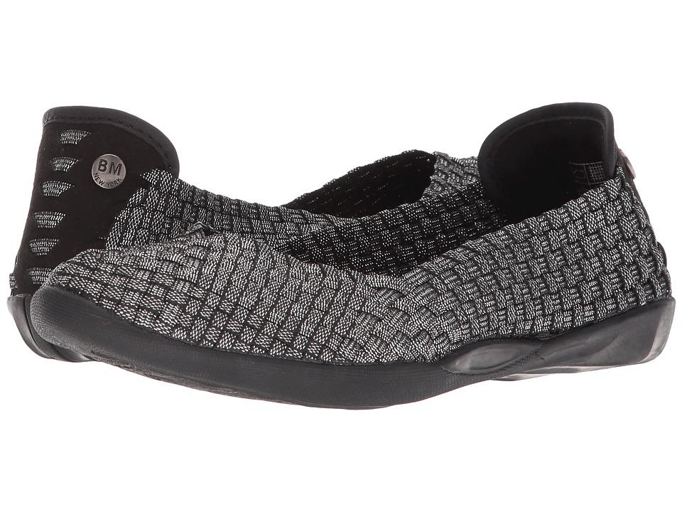 bernie mev. Catwalk (Black Shimmer) Slip-On Shoes