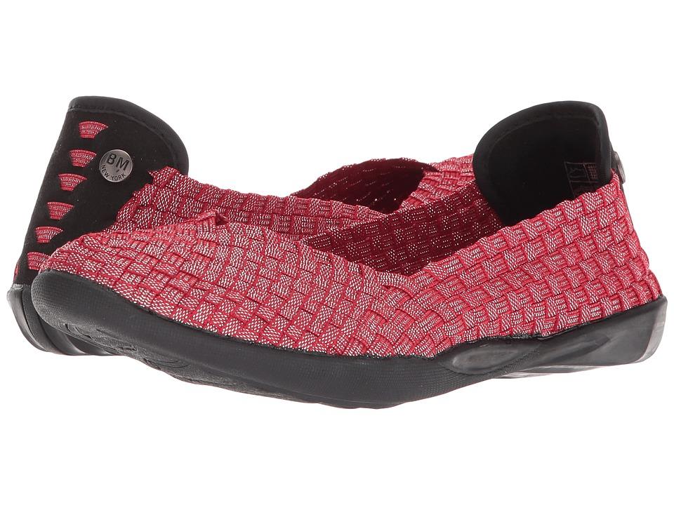 bernie mev. Catwalk (Red Shimmer) Slip-On Shoes