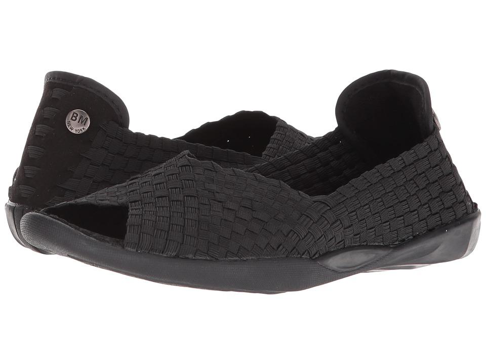 bernie mev. Dream (Black) Women's Toe Open Shoes