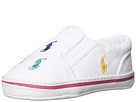 Polo Ralph Lauren Kids Bal Harbour Repeat Soft Sole (Infant/Toddler)