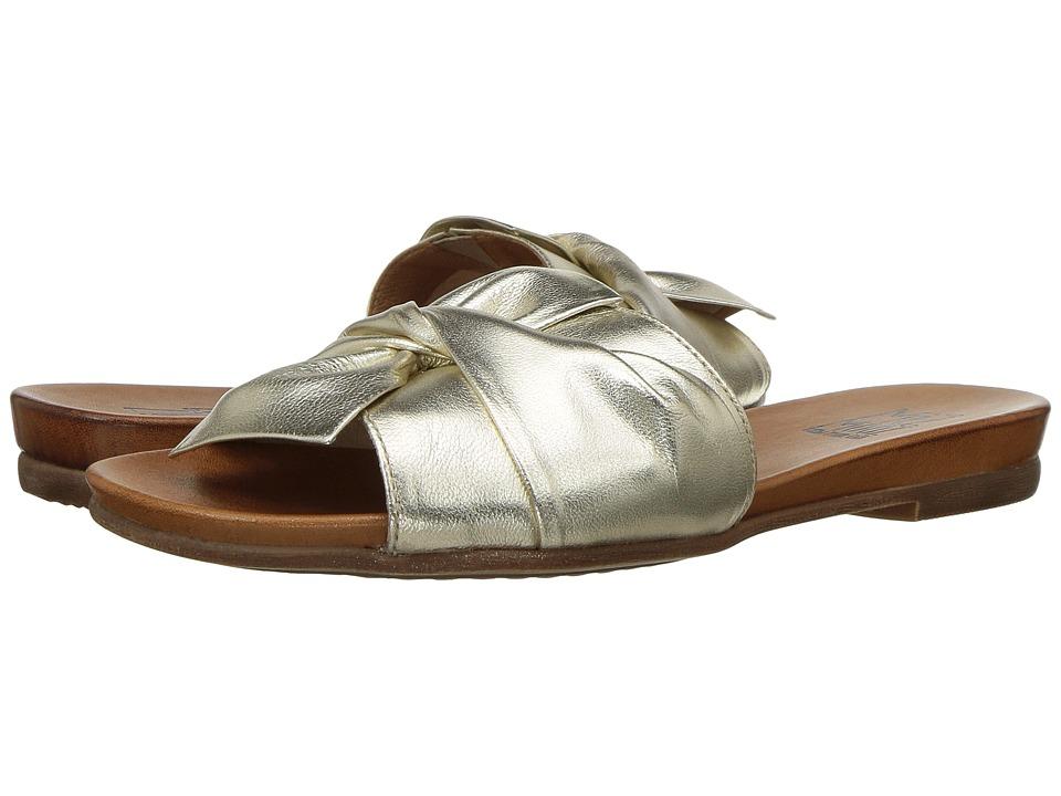 Miz Mooz Angelina (Gold) Sandals