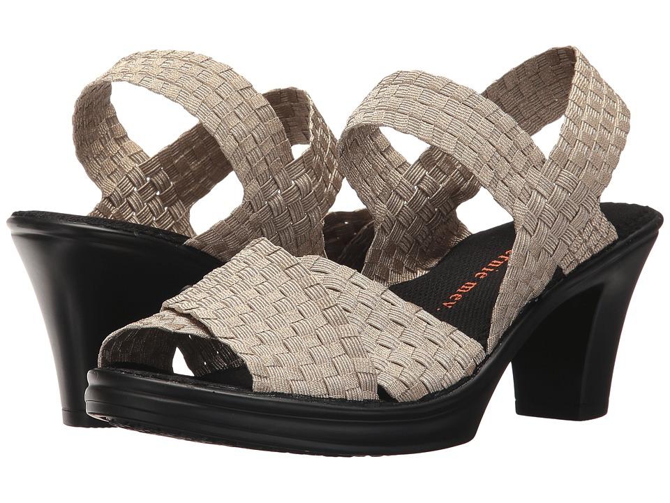 bernie mev. Delila (Light Gold) 1-2 inch heel Shoes