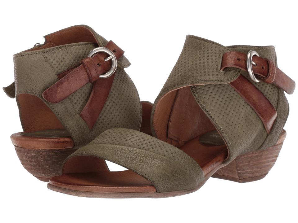 Miz Mooz Chatham (Olive) Women's Dress Sandals