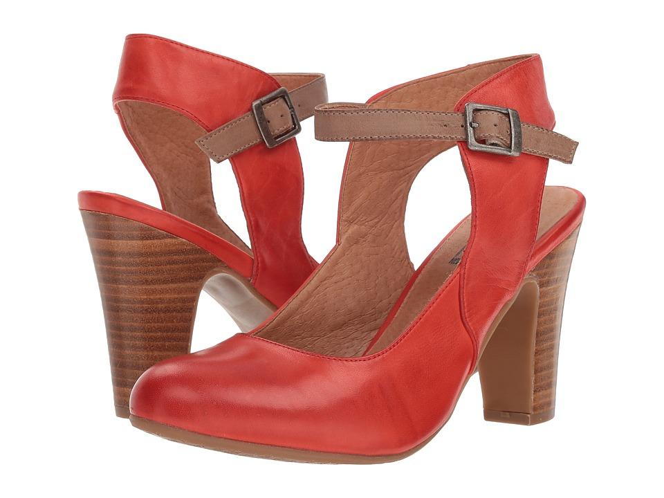 Miz Mooz Janna (Red) High Heels