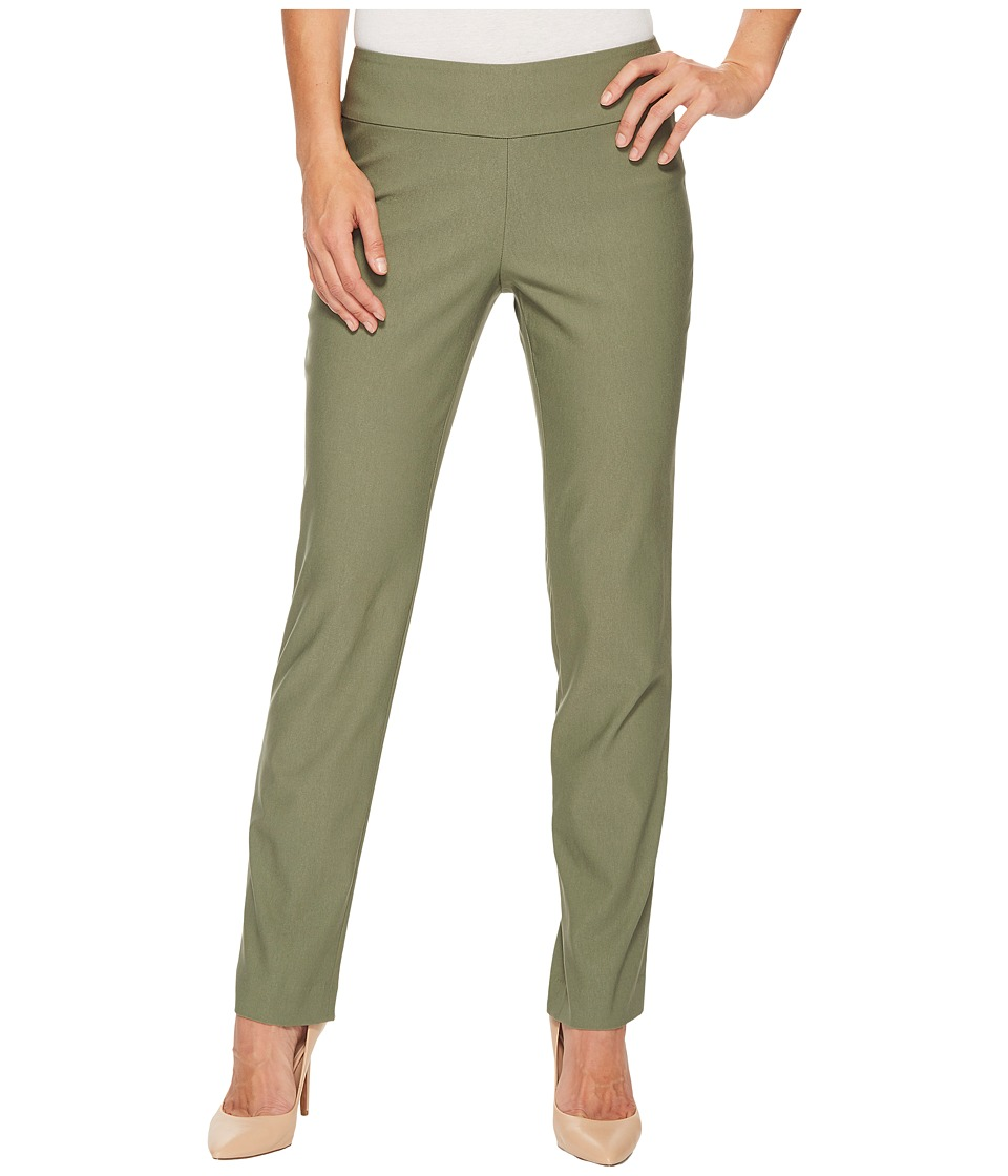 NIC+ZOE - Wonderstretch Pant (Spring Moss) Womens Dress Pants