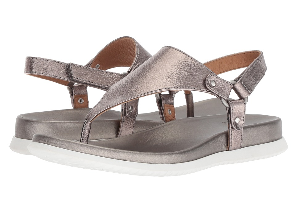 Sofft Felisa (Anthracite Cow Metallic) Women's Shoes