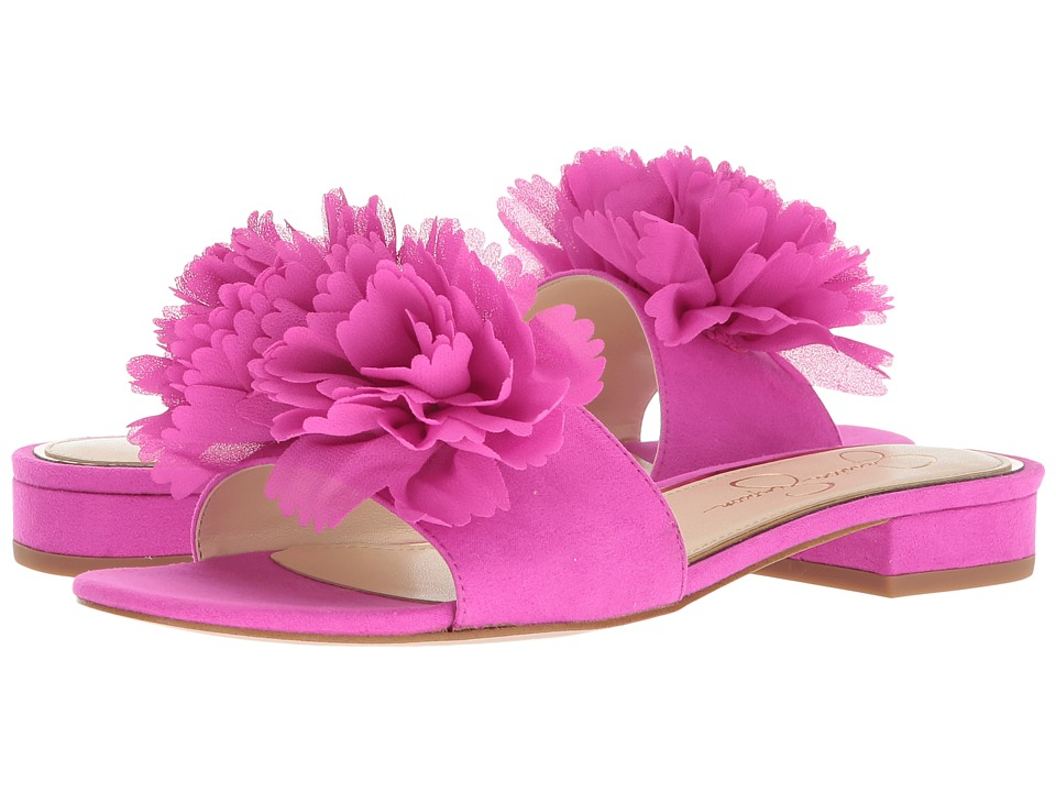 Jessica Simpson Caralin (Hot Shot Pink Microsuede) Women