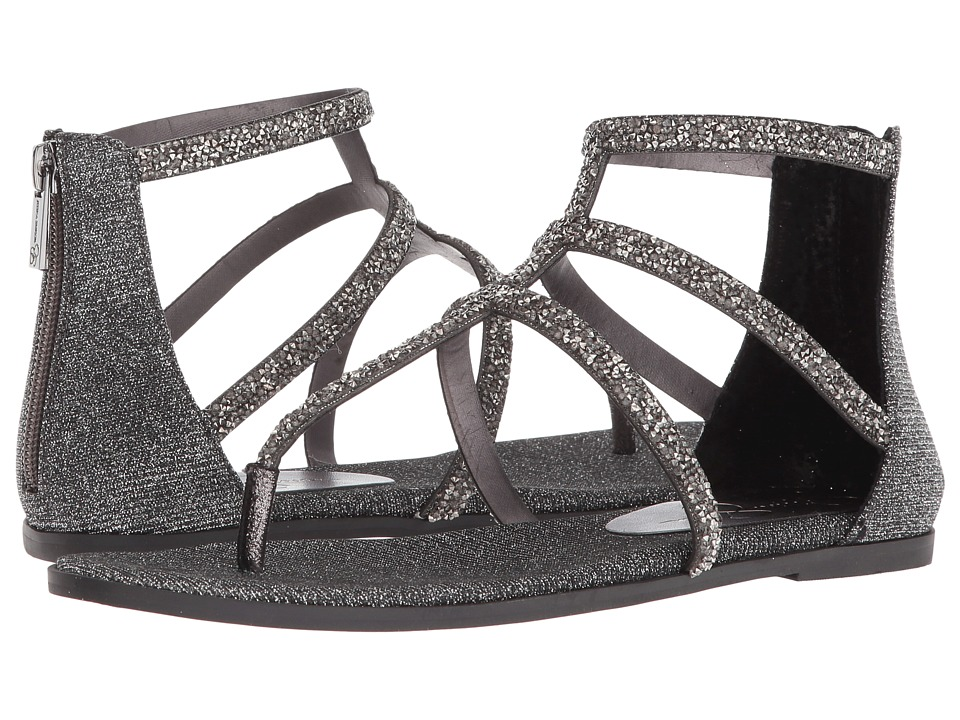 Jessica Simpson Cammie (Pewter Multi Glitter Gabor) Women's Shoes
